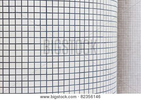 Mosaic Textured Pillar.