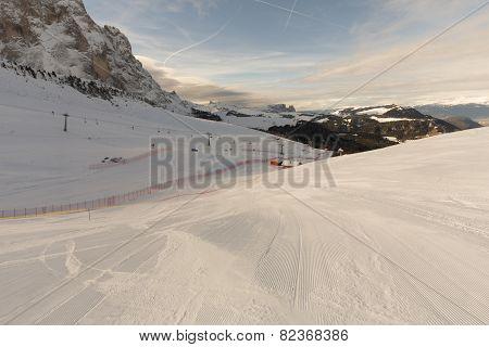 World Ski Men Ita Downhill Race