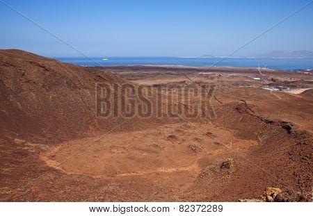 Fuerteventura, Canary Islands, Caldera Of Bayuyo Volcano
