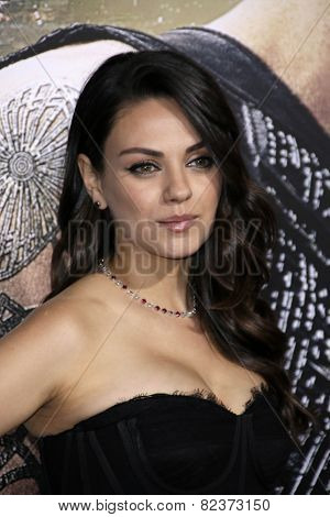 LOS ANGELES - FEB 2:  Mila Kunis at the