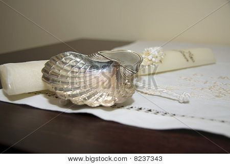 baptism candle