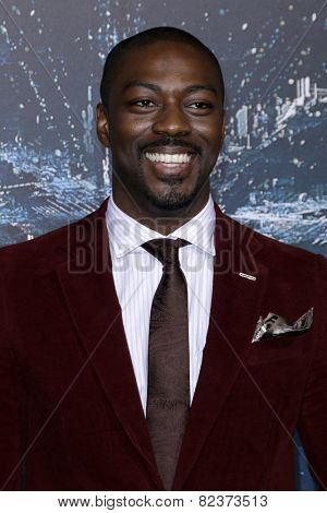 LOS ANGELES - FEB 2:  David Ajala at the