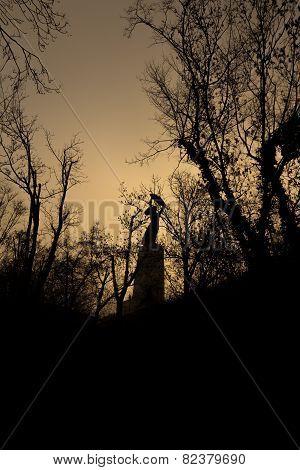 Citadel Budapest Silhouette sepia