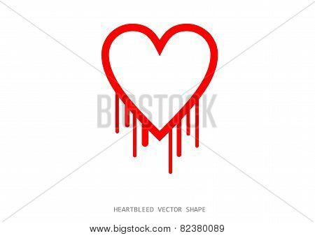 Clean Heartbleed Openssl Bug Vector Shape