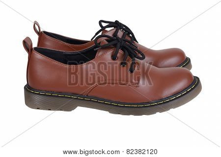 Brown Shoes.