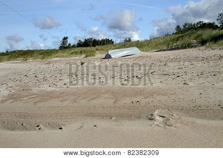 The Boat On Sand