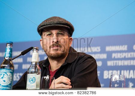 BERLIN- FEBRUARY, 05: Darren Aronofsky, Jury President. Press Conference at Hyatt Hotel, February, 05, 2015 in Berlin, Germany