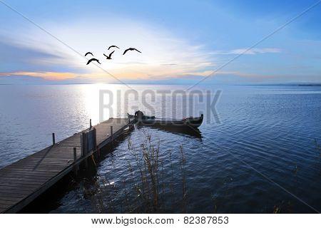 fishing day begins