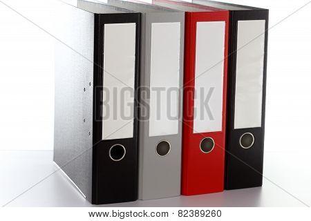 Four File Folders