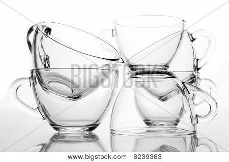 6 Tea Cups