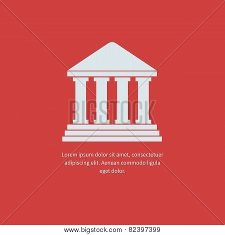 University Icon illustration