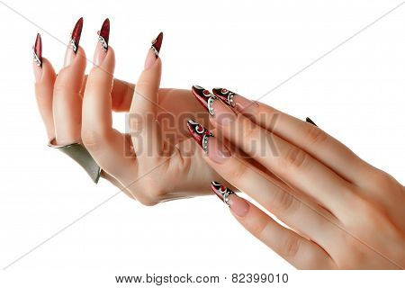 Nails Art Design.