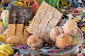 foto of damselfish  - sweet typical of the period of Carnival - JPG