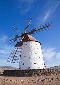 image of municipal  - Traditional older style windmill  - JPG