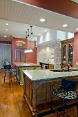 pic of opulence  - expensive kitchen remodel in Tuscan style - JPG