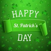 foto of saint patrick  - Saint Patricks Day greeting card - JPG