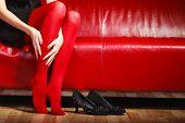 pic of pantyhose  - Elegant fashion outfit - JPG