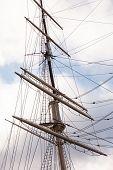 stock photo of mast  - ship mast - JPG