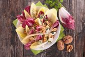 picture of chicory  - chicory salad - JPG
