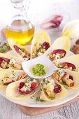 stock photo of chicory  - chicory salad - JPG