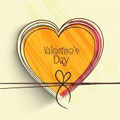 stock photo of corazon  - Happy Valentine - JPG