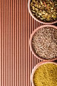 stock photo of cumin  - set cumin - JPG