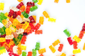 pic of gummy bear  - the photo shot of a gummy bears - JPG