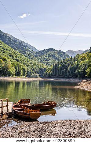 Biogradsko Lake in Montenegro