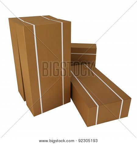 Large boxes for dispatch