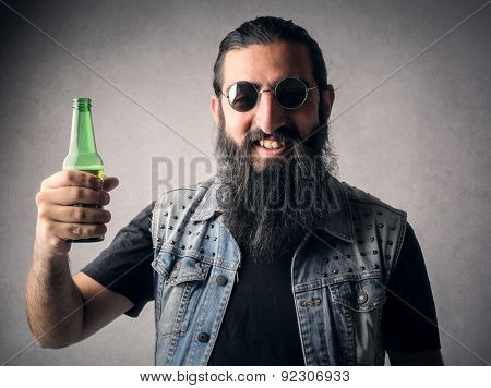 A tasty beer