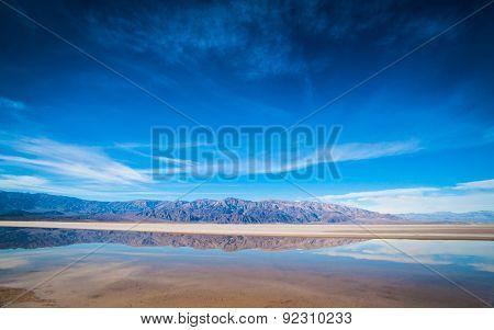 Landscape Of Desert Reflections