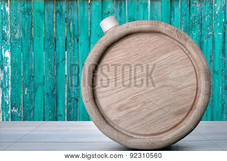 Barrel On The Table