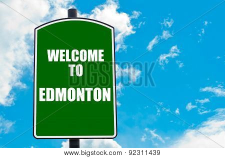 Welcome To Edmonton