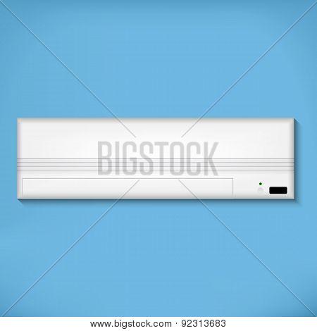 White air conditioner
