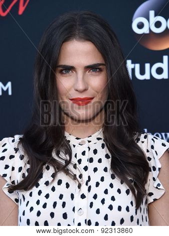 LOS ANGELES - MAY 28:  Karla Souza arrives to the