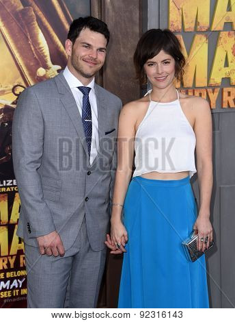 LOS ANGELES - MAY 07:  Josh Helman & Jennifer Allcott arrives to the
