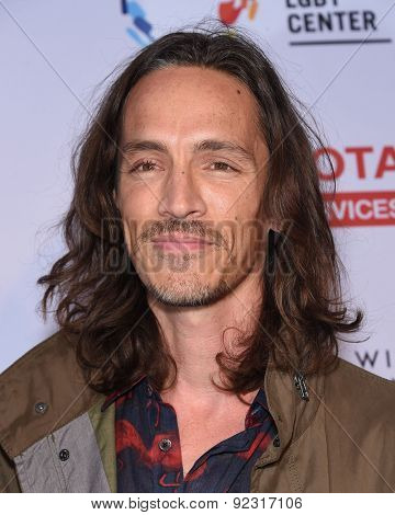 LOS ANGELES - MAY 16:  Brandon Boyd arrives to the An Evening With Women  on May 16, 2015 in Hollywood, CA