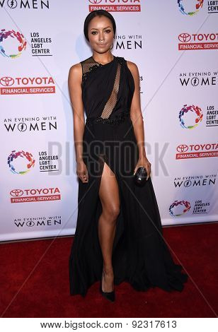 LOS ANGELES - MAY 16:  Kat Graham arrives to the An Evening With Women  on May 16, 2015 in Hollywood, CA