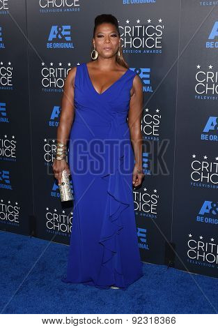 LOS ANGELES - MAY 31:  Queen Latifah arrives to the Critic's Choice Television Awards 2015  on May 31, 2015 in Hollywood, CA