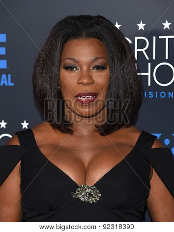 LOS ANGELES - MAY 31:  Lorraine Toussaint arrives to the Critic's Choice Television Awards 2015  on May 31, 2015 in Hollywood, CA