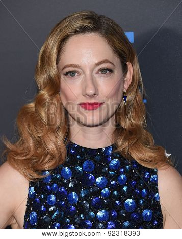 LOS ANGELES - MAY 31:  Judy Greer arrives to the Critic's Choice Television Awards 2015  on May 31, 2015 in Hollywood, CA