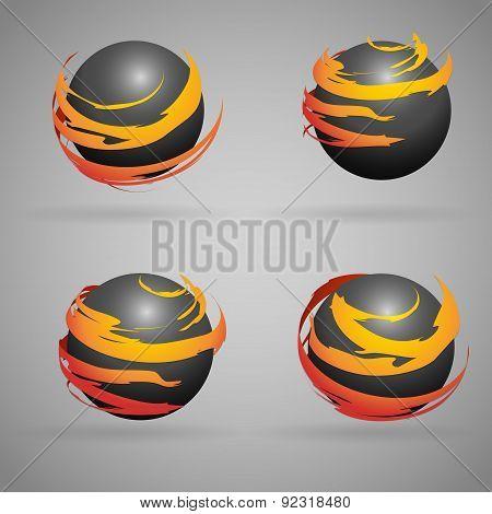Spheres fire