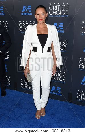 LOS ANGELES - MAY 31:  Mel B arrives to the Critic's Choice Television Awards 2015  on May 31, 2015 in Hollywood, CA