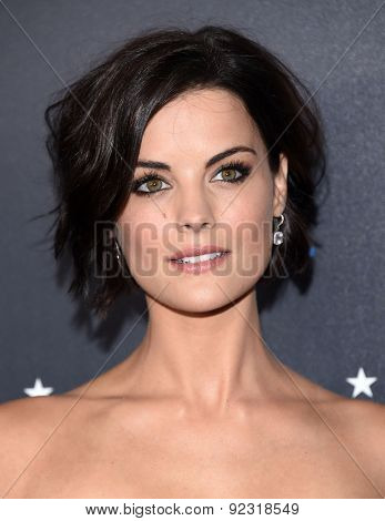 LOS ANGELES - MAY 31:  Jaimie Alexander arrives to the Critic's Choice Television Awards 2015  on May 31, 2015 in Hollywood, CA