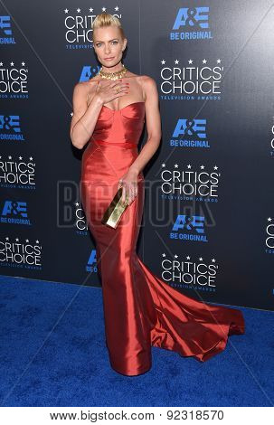 LOS ANGELES - MAY 31:  Jaime Pressly arrives to the Critic's Choice Television Awards 2015  on May 31, 2015 in Hollywood, CA