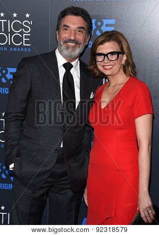 LOS ANGELES - MAY 31:  Chuck Lorre arrives to the Critic's Choice Television Awards 2015  on May 31, 2015 in Hollywood, CA