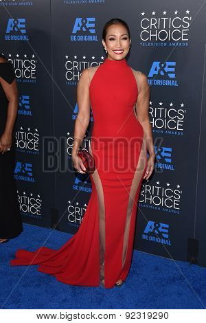 LOS ANGELES - MAY 31:  Carrie Ann Inaba arrives to the Critic's Choice Television Awards 2015  on May 31, 2015 in Hollywood, CA