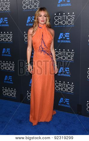 LOS ANGELES - MAY 31:  Cat Deeley arrives to the Critic's Choice Television Awards 2015  on May 31, 2015 in Hollywood, CA
