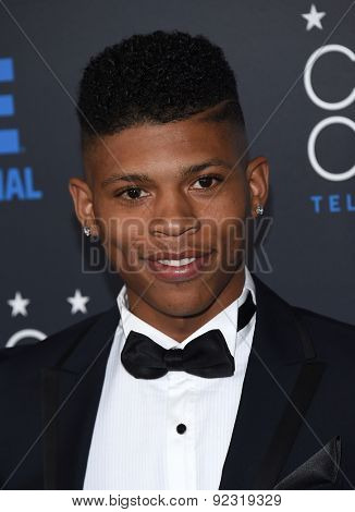 LOS ANGELES - MAY 31:  Bryshere Gray arrives to the Critic's Choice Television Awards 2015  on May 31, 2015 in Hollywood, CA