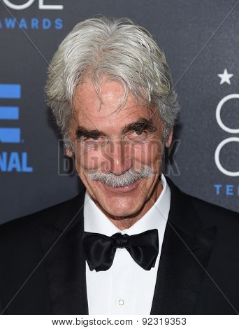 LOS ANGELES - MAY 31:  Sam Elliott arrives to the Critic's Choice Television Awards 2015  on May 31, 2015 in Hollywood, CA